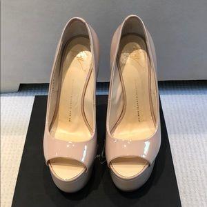Giuseppe Zanotti Shoes - Zanotti peep toe heels (blush)